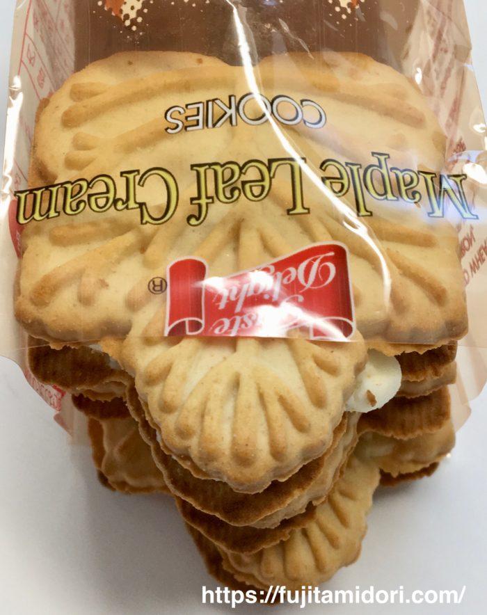 テイストデライト『メイプルリーフ クリームクッキー』
